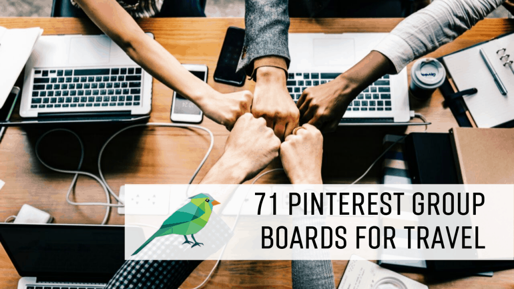 71 Pinterest Group Boards for Travel Bloggers