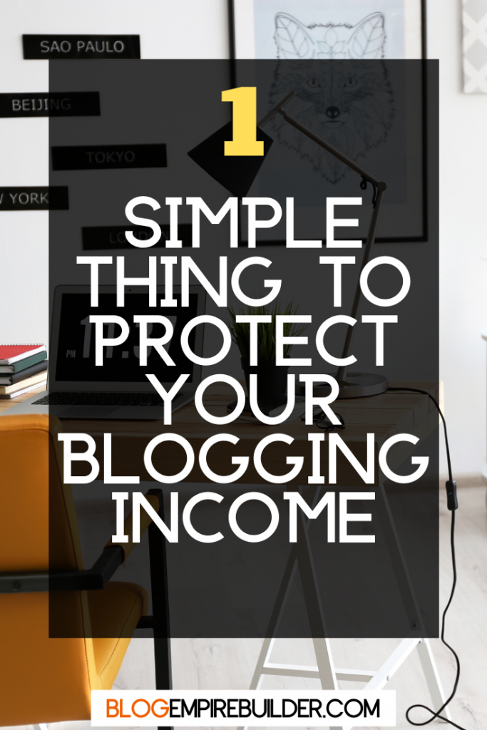 Why Serious Bloggers Should Have a Back Burner Site