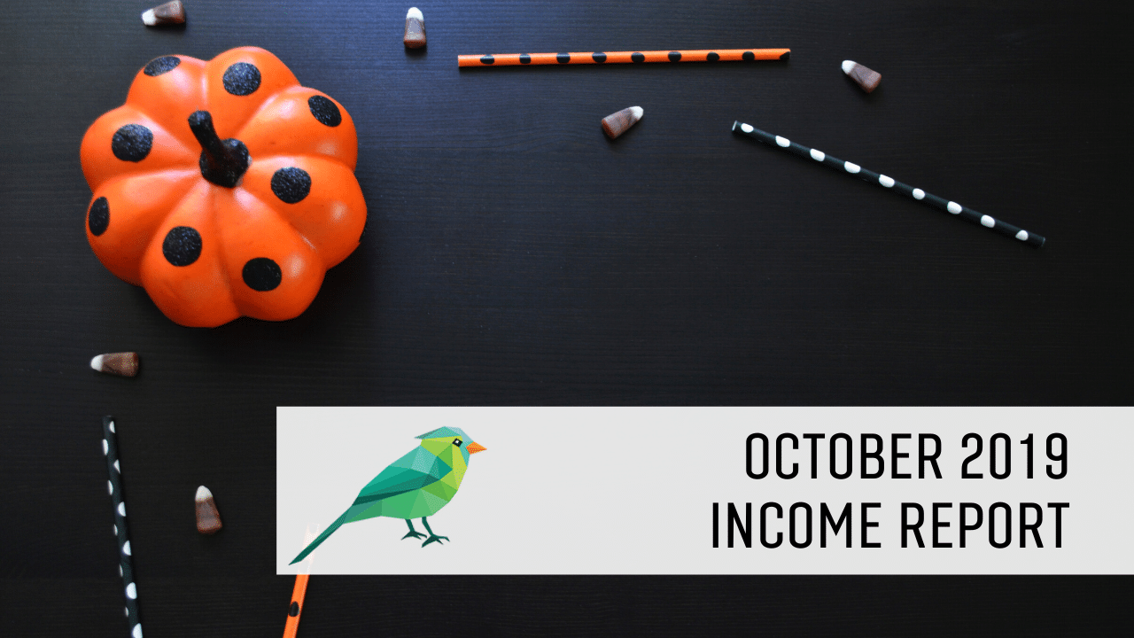 October Blog Income Report image