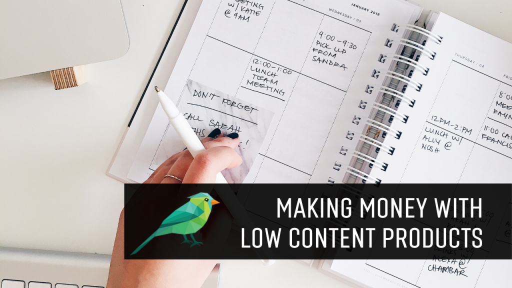 How Bloggers Can Make More Money With Low Content Products